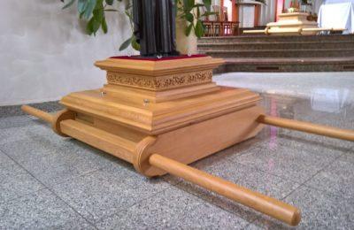 Feretrony wykonane dla Parafii św. Andrzeja Boboli w Czechowicach-Dziedziach