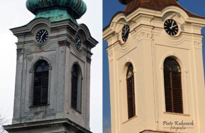 Wykonanie nowych okien na wieży kościoła św. Katarzyny w Czechowicach-Dziedzicach
